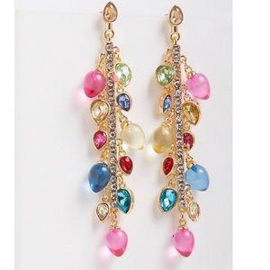 🆕 Multi Colour Holiday Light Linear Earring NWT Torrid Christmas New!